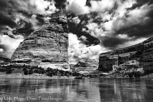 Steamboat Rock in Echo Park, Dinosaur National Monument, Colorado. Photo by Mike Hupp, Dawn Patrol Images